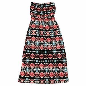 Trixxi strapless maxi dress BOHO